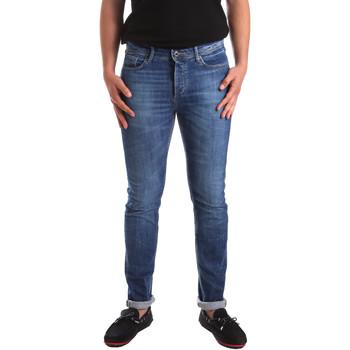 tekstylia Męskie Jeansy slim fit U.S Polo Assn. 51321 51779 Niebieski
