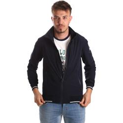 tekstylia Męskie Bluzy U.S Polo Assn. 52417 51536 Niebieski