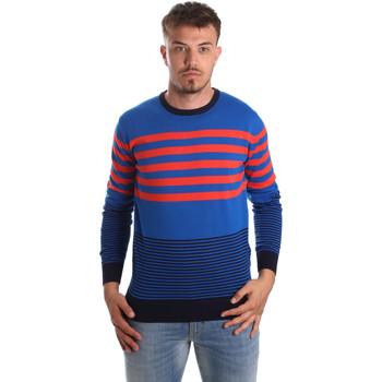 tekstylia Męskie Swetry U.S Polo Assn. 51727 51438 Niebieski