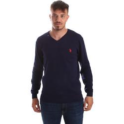 tekstylia Męskie Swetry U.S Polo Assn. 51727 51432 Niebieski