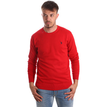 tekstylia Męskie Swetry U.S Polo Assn. 51727 51431 Czerwony