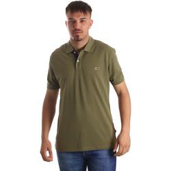 tekstylia Męskie Koszulki polo z krótkim rękawem Napapijri N0YIJJ Zielony