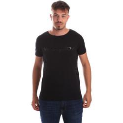 tekstylia Męskie T-shirty z krótkim rękawem Byblos Blu 2MT0023 TE0048 Czarny