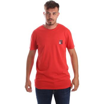 tekstylia Męskie T-shirty z krótkim rękawem Byblos Blu 2MT0010 TE0045 Czerwony