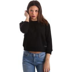 tekstylia Damskie Bluzy Calvin Klein Jeans J20J210319 Czarny