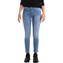tekstylia Damskie Jeansy skinny Calvin Klein Jeans J20J211006 Niebieski