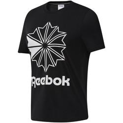 tekstylia Damskie T-shirty z krótkim rękawem Reebok Sport DT7219 Czarny