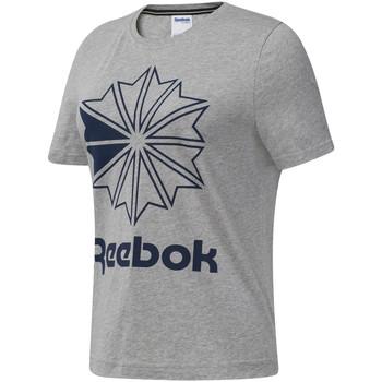 tekstylia Damskie T-shirty z krótkim rękawem Reebok Sport DT7221 Szary