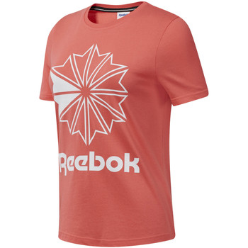 tekstylia Damskie T-shirty z krótkim rękawem Reebok Sport DT7223 Różowy