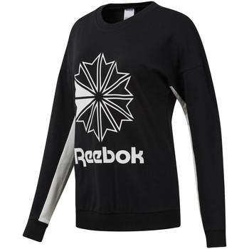 tekstylia Damskie Bluzy Reebok Sport DT7241 Czarny