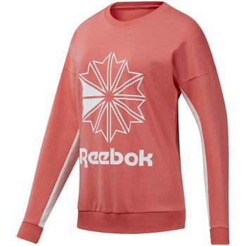 tekstylia Damskie Bluzy Reebok Sport DT7245 Różowy