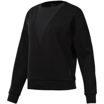 tekstylia Damskie Bluzy Reebok Sport DU4042 Czarny