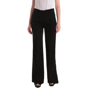 tekstylia Damskie Spodnie od garnituru  Liu Jo W19363T7982 Czarny