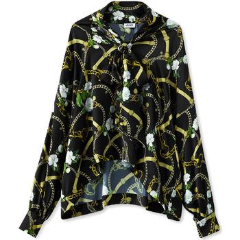 tekstylia Damskie Koszule Liu Jo W19499T5335 Czarny