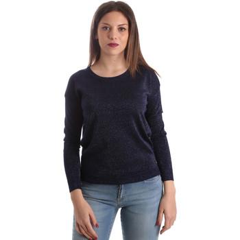 tekstylia Damskie Swetry Fracomina FR19SP8009 Niebieski
