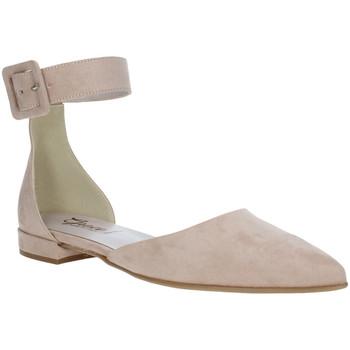 Buty Damskie Baleriny Grace Shoes 977003 Różowy