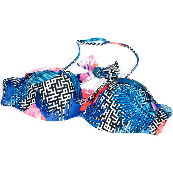 tekstylia Damskie Bikini: góry lub doły osobno Ea7 Emporio Armani 912089 9P432 Niebieski