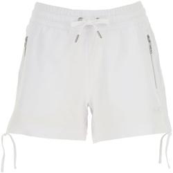 tekstylia Damskie Szorty i Bermudy Ea7 Emporio Armani 3GTS52 TJ31Z Biały