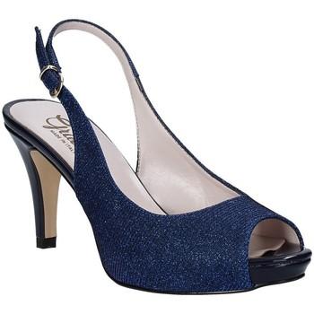 Buty Damskie Sandały Grace Shoes 738I003 Niebieski