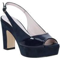 Buty Damskie Sandały Grace Shoes 679004 Niebieski
