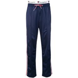 tekstylia Damskie Spodnie dresowe Champion 111374 Niebieski