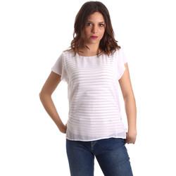 tekstylia Damskie Topy / Bluzki NeroGiardini P962470D Biały