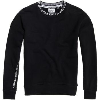 tekstylia Damskie Bluzy Superdry G20106TU Czarny