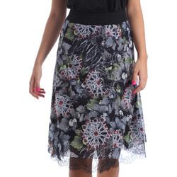 tekstylia Damskie Spódnice Smash S1928417 Czarny