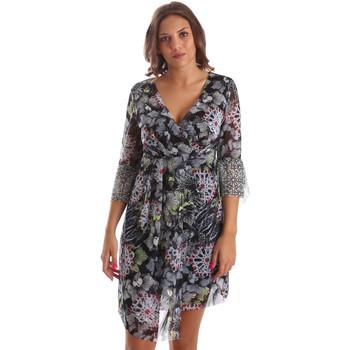 tekstylia Damskie Sukienki krótkie Smash S1984413 Czarny