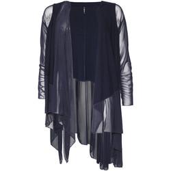tekstylia Damskie Swetry rozpinane / Kardigany Smash S1953411 Niebieski