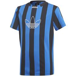 tekstylia Chłopiec T-shirty z krótkim rękawem adidas Originals DV2910 Niebieski