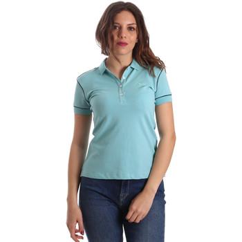 tekstylia Damskie Koszulki polo z krótkim rękawem La Martina NWP002 PK001 Niebieski
