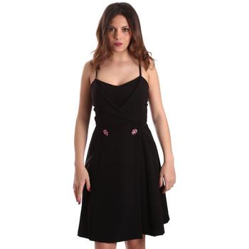 tekstylia Damskie Sukienki krótkie Gaudi 911FD15005 Czarny