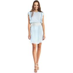 tekstylia Damskie Sukienki krótkie Gaudi 911BD15004 Niebieski