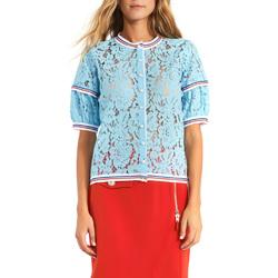 tekstylia Damskie Topy / Bluzki Gaudi 911BD55001 Niebieski