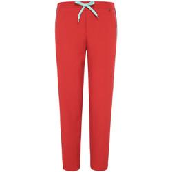 tekstylia Damskie Spodnie dresowe Pepe jeans PL211284 Czerwony