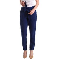 tekstylia Damskie Chinos Pepe jeans PL2113030 Niebieski