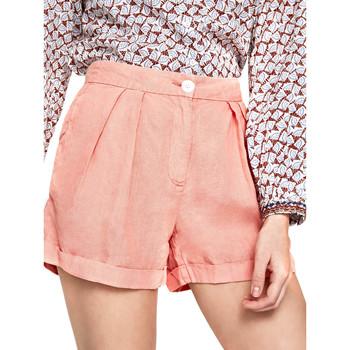 tekstylia Damskie Szorty i Bermudy Pepe jeans PL800839 Pomarańczowy