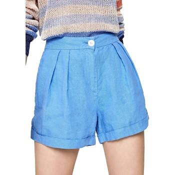 tekstylia Damskie Szorty i Bermudy Pepe jeans PL800839 Niebieski