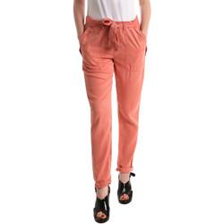 tekstylia Damskie Chinos Pepe jeans PL2113030 Pomarańczowy