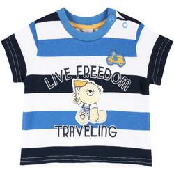 tekstylia Dziecko T-shirty z krótkim rękawem Chicco 09006664000000 Biały