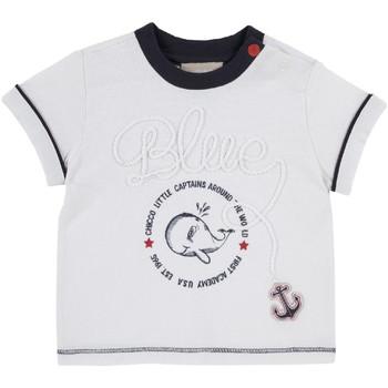 tekstylia Dziecko T-shirty z krótkim rękawem Chicco 09006679000000 Biały