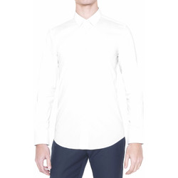 tekstylia Męskie Koszule z długim rękawem Antony Morato MMSL00375 FA450001 Biały