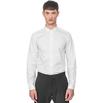 tekstylia Męskie Koszule z długim rękawem Antony Morato MMSL00596 FA400072 Biały