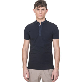 tekstylia Męskie Koszulki polo z krótkim rękawem Antony Morato MMKS01741 FA120022 Niebieski