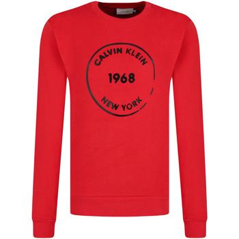 tekstylia Męskie Bluzy Calvin Klein Jeans K10K104548 Czerwony