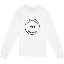 tekstylia Męskie Bluzy Calvin Klein Jeans K10K104548 Biały