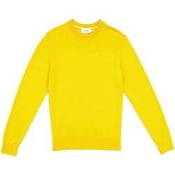 tekstylia Męskie Swetry Calvin Klein Jeans K10K104068 Żółty
