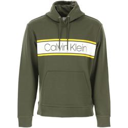 tekstylia Męskie Bluzy Calvin Klein Jeans K10K104401 Zielony