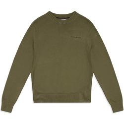 tekstylia Męskie Swetry Calvin Klein Jeans J30J313480 Zielony